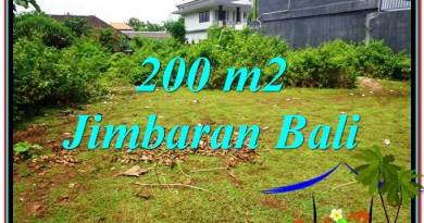 Beautiful PROPERTY 200 m2 LAND SALE IN JIMBARAN BALI TJJI107