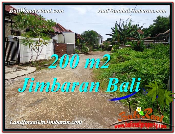 Affordable Jimbaran Ungasan 200 m2 LAND FOR SALE TJJI106