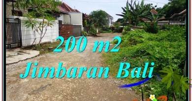 Exotic Jimbaran Ungasan 200 m2 LAND FOR SALE TJJI106