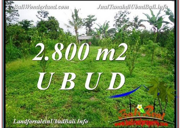 FOR SALE Magnificent LAND IN Ubud Tegalalang BALI TJUB592