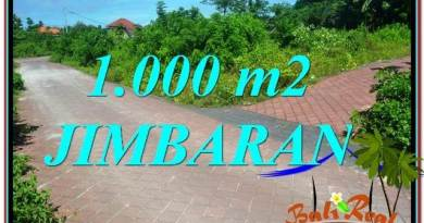 Beautiful 1,000 m2 LAND IN JIMBARAN BALI FOR SALE TJJI111