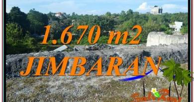Beautiful PROPERTY Jimbaran Ungasan BALI 1,670 m2 LAND FOR SALE TJJI116