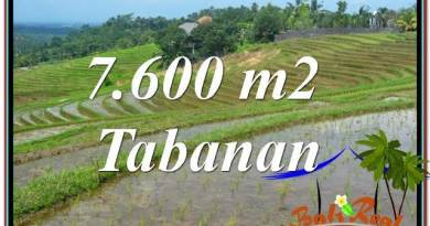 Affordable PROPERTY 7,600 m2 LAND FOR SALE IN TABANAN TJTB347