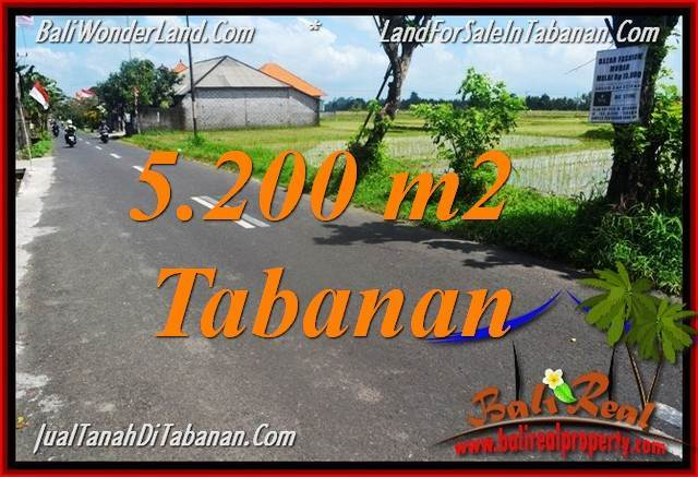 Affordable PROPERTY LAND IN TABANAN FOR SALE TJTB351