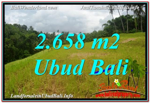 Affordable UBUD BALI 2,658 m2 LAND FOR SALE TJUB641