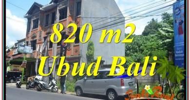 Exotic 820 m2 LAND SALE IN UBUD BALI TJUB643