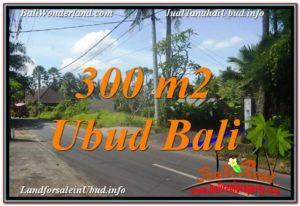 Magnificent 300 m2 LAND IN UBUD BALI FOR SALE TJUB646