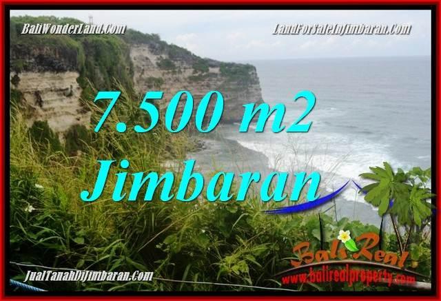 Beautiful 7,500 m2 LAND FOR SALE IN Jimbaran Uluwatu  BALI TJJI126