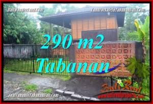 FOR SALE Exotic 290 m2 LAND IN TABANAN BALI TJTB358