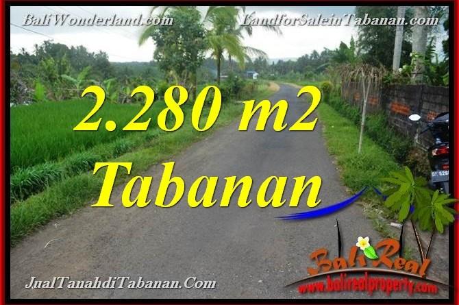 Beautiful PROPERTY LAND SALE IN Tabanan Selemadeg BALI TJTB374