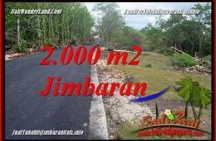 Magnificent PROPERTY LAND IN JIMBARAN BALI FOR SALE TJJI133B