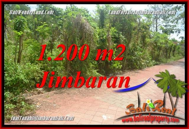 Beautiful JIMBARAN ULUWATU BALI 1,200 m2 LAND FOR SALE TJJI128A