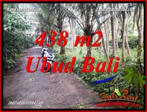 Magnificent Ubud Bali 438 m2 Land for sale TJUB689