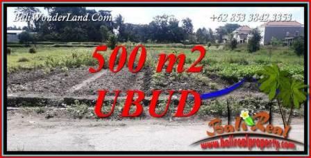 Affordable 500 m2 Land for sale in Sentral Ubud TJUB720