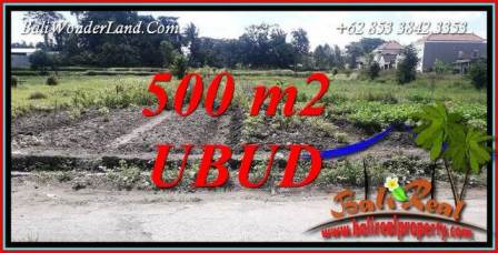 Affordable 500 m2 Land for sale in Sentral Ubud TJUB720