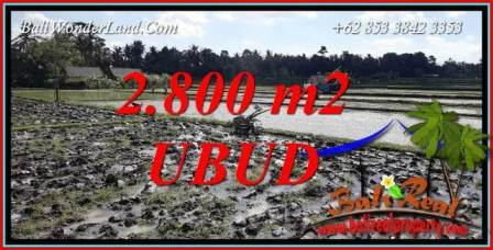 Land sale in Sentral Ubud Bali TJUB722