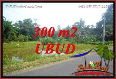 Exotic Property 300 m2 Land for sale in Sentral Ubud Bali TJUB730