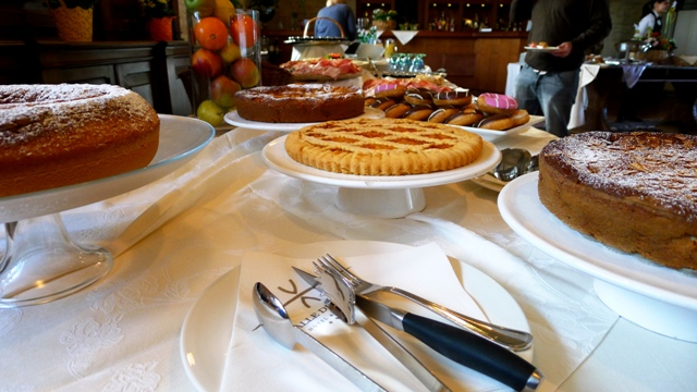 Breakfast Buffet TBU Umbria Italy
