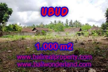 Land in Ubud for sale, Stunning view in Ubud Center Bali – TJUB373