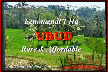 FOR SALE Beautiful 10000 m2 LAND IN Ubud Pejeng TJUB456