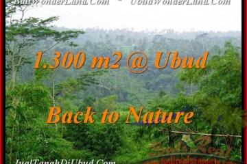 Magnificent UBUD 1,300 m2 LAND FOR SALE TJUB481
