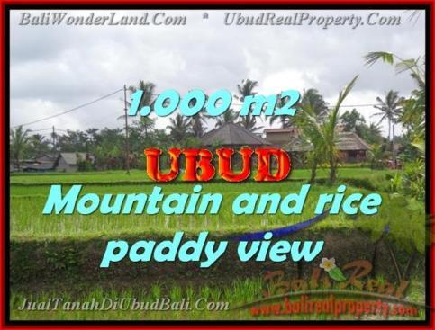 LAND IN Ubud Tegalalang BALI FOR SALE TJUB424