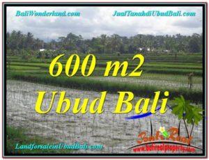 FOR SALE 600 m2 LAND IN UBUD TJUB607