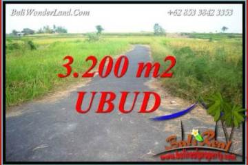 Affordable Ubud Bali 3,200 m2 Land for sale TJUB736