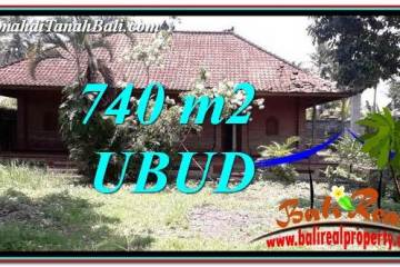 Affordable UBUD BALI 740 m2 LAND FOR SALE TJUB764