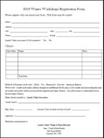 2019 class registration form