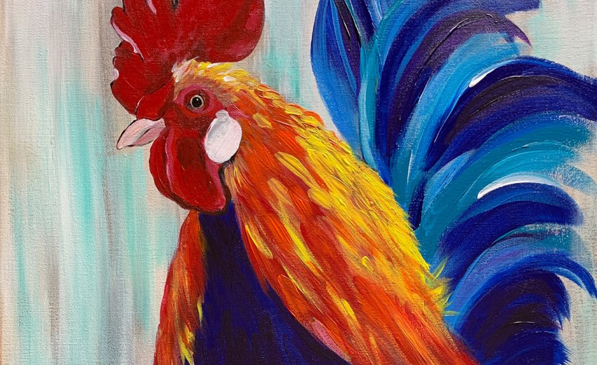rooster painting class