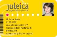 So sieht sie aus: die Jugendleiter-Card JULEICA©Landkreis Harburg