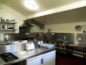 Das Hostel in Lizard - Die Selbstverpfleger-Küche