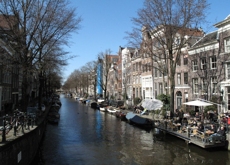 Frühling in Amsterdam