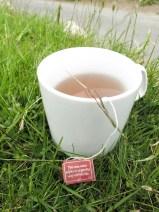endlich angekommen kann man hier bei einem Tee entspannen