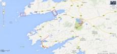 Karte von Kerry