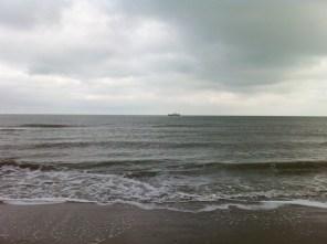 Am Horizont von Oostkapelle