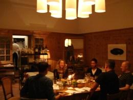Gespräch über Nachhaltigkeit in Graubünden im Hotel Piz Linard (Lavin)