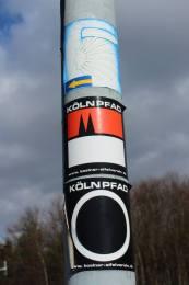 Das Symbol des Kölnpfads