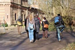 In der Gruppe unterwegs auf dem KölnPfad