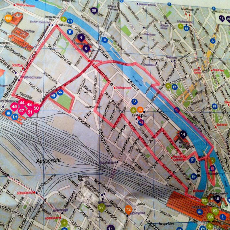 Zürich: Rundtour durch den Kreis 5