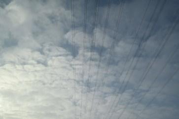 Linien am Himmel