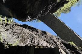 Bick nach oben in der Viamala Schlucht