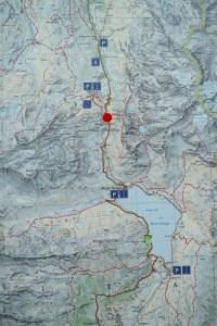 Karte: Via Spluga Etappe 3 (Splügen - Isola)