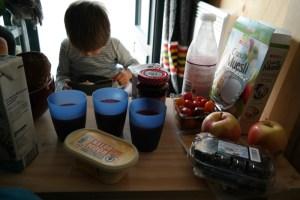 Frühstück vom Supermarkt
