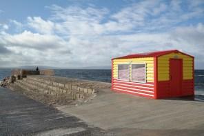 """Dem Meer so nah auf dem """"Sli na Slainte"""" in Galway"""