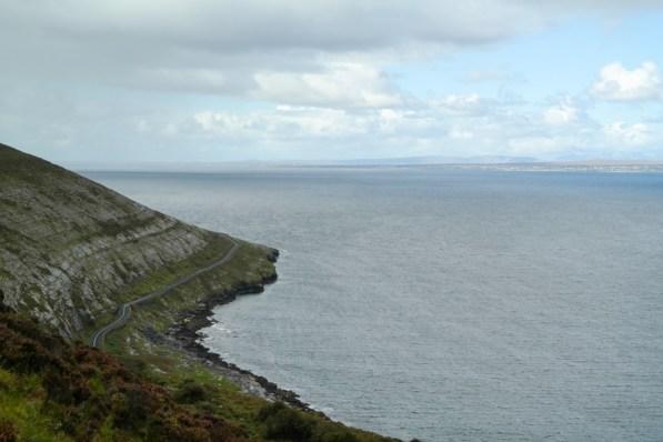 Auf dem Weg von Ballyvaughan bis Fanore