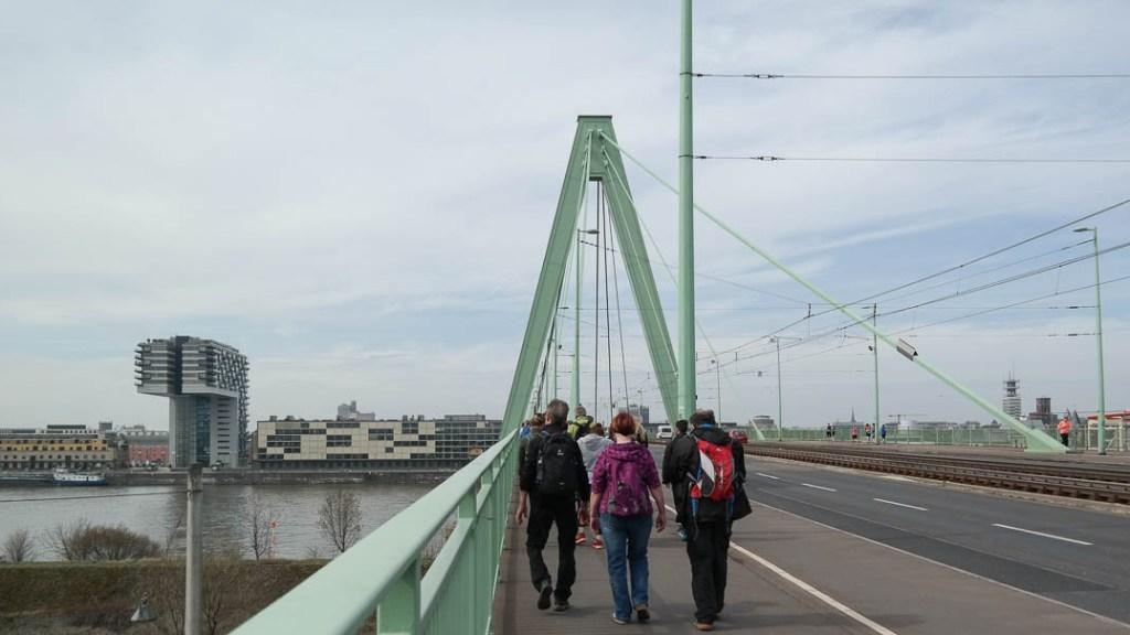 Über 7 Brücken — Severinsbrücke