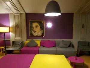 Die Lounge im La Clairière