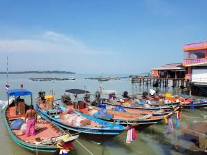 Das ursprüngliches Leben der Fischer auf Koh Raet